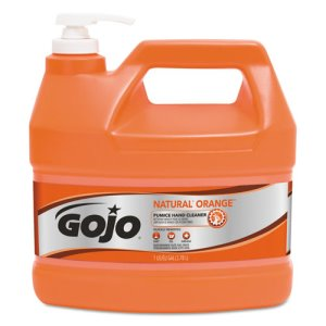 Gojo 095504 Natural Orange Pumice Hand Cleaner, 4 Pump Bottles (GOJ095504CT)