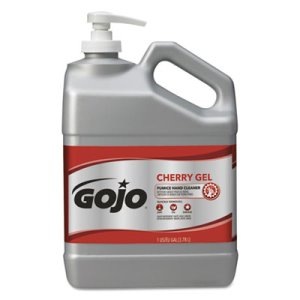 GOJO Cherry Gel Pumice Hand Cleaner, 2 - 1 gallon bottles per Ctn (GOJ 2358-02)