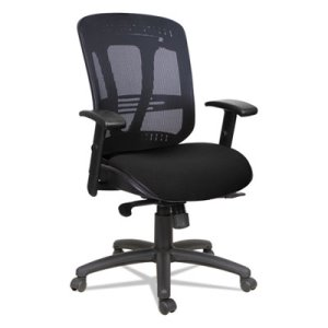 Alera Multifunction Wire Mechanism, Mid-Back Mesh Chair, Black (ALEEN4217)