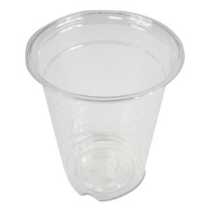 Boardwalk Clear Plastic Cold Cups, 12 oz, 1000/Carton (BWKPET12)
