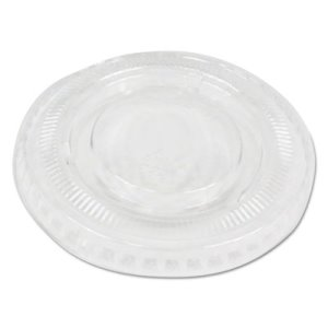 Boardwalk Soufflé/Portion Cup Lids, f/2-oz Portion Cups, 2500 Lids (BWKPRTLID2)