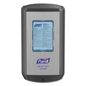 Purell CS6 Soap Touch-Free Dispenser, 4.88 x 8.19 x 11.38, Graphite (GOJ653401)