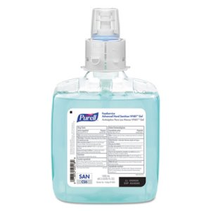 Purell Foodservice Sanitizer VF481 Gel For CS6 Dispensers, 2 Refills (GOJ656802)