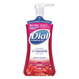 Dial Complete Antibacterial Foaming Hand Wash, 8 Pump Bottles (DIA03016CT)
