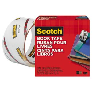 "Scotch Book Repair Tape, 2"" x 15 yards, 3"" Core, 1 Each (MMM8452)"