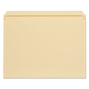 Universal File Folders, Straight Cut, One-Ply Tab, Letter, 100/Box (UNV12110)