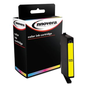 Innovera Remanufactured T6M10AN High-Yield Ink, Yellow (IVR902XLY)