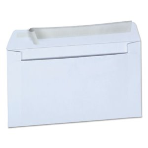 Universal Pull & Seal Business Envelope, #6 3/4, White, 100/Box (UNV36000)