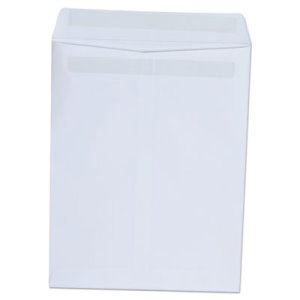 Universal Self-Seal Catalog Envelope, 9 x 12, White, 100/Box (UNV42101)