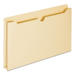"Universal File Jackets with 2"" Expansion, Legal, 11 Point, 50 per Box (UNV76500)"
