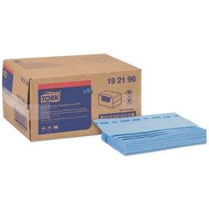 "Tork Foodservice Cloths, 21"" x 13"", Blue, 150/Box (TRK192196)"
