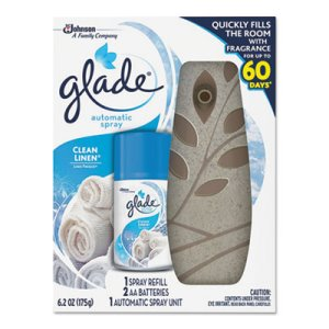 Glade Automatic Air Freshener Starter Kit, Sandy, 4 Kits (SJN686452)