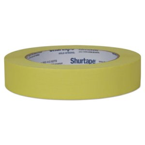 "Duck Color Masking Tape, .94"" x 60 yds, Yellow, 1 Roll (DUC240570)"