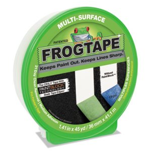 "Duck FROGTAPE Painting Tape, 1.41"" x 45 yards, 3"" Core, Green (DUC1396747)"