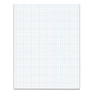 Tops Section Pads, 4 Squares, Quadrille Rule, Letter, 50 Sheets/Pad (TOP35041)