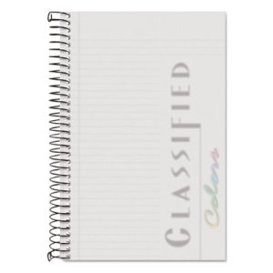 Tops Narrow Rule Notebook w/White Cover, 5-1/2 x 8-1/2, 100 Sheets (TOP99711)
