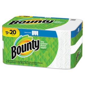 Bounty Select-a-Size Paper Towels, 5.9 x 11, 110 Sheets/RL, 12 Rolls (PGC76209)