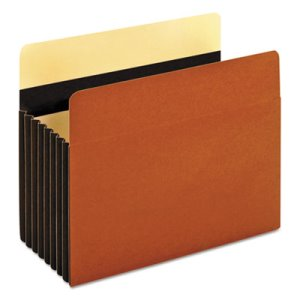 "Pendaflex Redrope File Pocket, 7"" Expansion, Letter, 5/Box (PFX15444HD)"