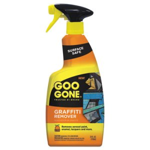 Goo Gone Graffiti Remover, 24-oz Spray Bottle, 4 Trigger Spray Bottles (WMN2132)