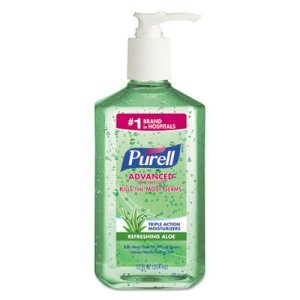 Purell Instant Hand Sanitizer with Aloe, 12-oz. Pump Bottle (GOJ363912EA)