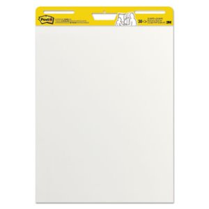 Post-it Easel Self-Stick Pads 25 x 30, White, 2 30-Sheet Pads/Carton (MMM559)