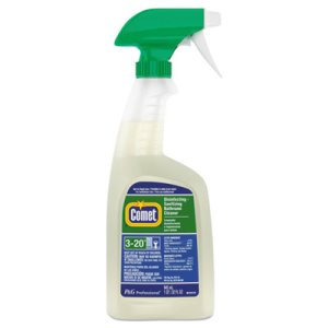 Comet Disinfecting Bathroom Cleaner, 8 Trigger Spray Bottles (PGC22569CT)