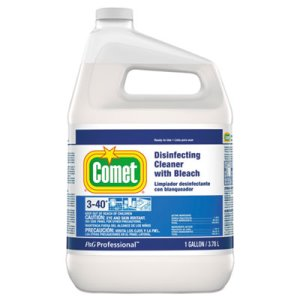 Comet Disinfecting Cleaner with Bleach, 3 Gallons (PGC24651CT)