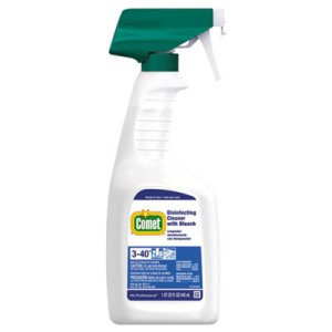 Comet Disinfecting Cleaner with Bleach, 8 Spray Bottles (PGC30314CT)