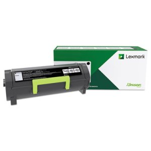 Lexmark 50F1H00 High-Yield Toner, 5000 Page-Yield, Black (LEX50F1H00)