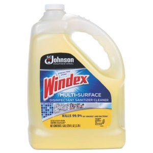 Windex Multi-Surface Disinfectant Cleaner, Citrus, 4 Gallons (SJN682265)