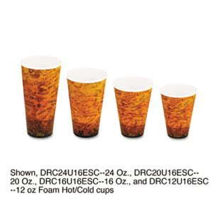 Dart Fusion Escape 24-oz. Foam Cups, 500 Cups (DCC24U16ESC)