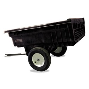 Rubbermaid Commercial Tractor Cart, 1200 lb Capacity, Black (RCP5660BLA)