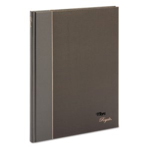 Tops Royale Casebound Notebook, Wide Rule, 10-1/2 x 8, 96 Sheets (TOP25231)