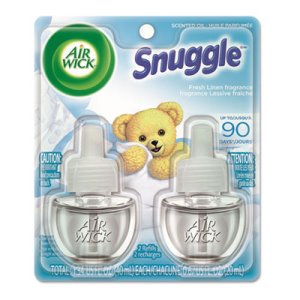 Air Wick Scented Oil Refill, Snuggle Fresh Linen, .67-oz, 12 Refills (RAC82291)
