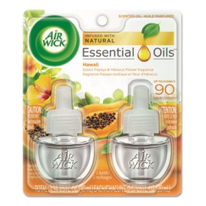 Air Wick Scented Oil Refill, Hawaiian Tropical Sunset, 12 Refills (RAC85175CT)