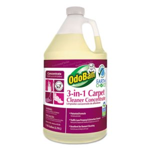 Odoban Earth Choice 3-N-1 Carpet Cleaner, 128-oz, 4 Bottles (ODO9602B62G4)