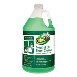 Odoban Neutral pH Floor Cleaner, 128 oz Bottle, Floral, 4 per CT (ODO936162G4)
