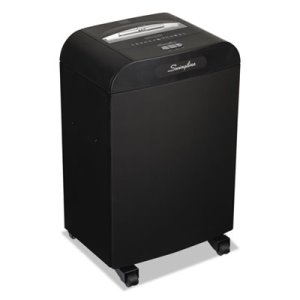 Swingline DX20-19 Continuous-Duty Shredder, 20 Sheet Capacity (SWI1758605)