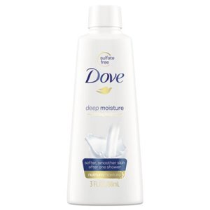 Dove Body Wash, Cucumber and Green Tea, 3 oz, Each (UNI17266EA)