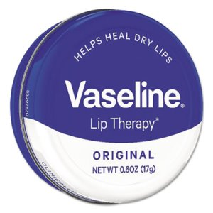 Vaseline Lip Therapy Mini Tins, Original, 0.6 oz, 12 Tins  (UNI53647CT)