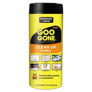 Goo Gone Tough Task Clean-Up Wipes, Citrus Scent, 4 Canisters (WMN2000)