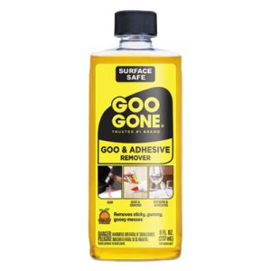 Goo Gone Goo & Adhesive Remover, Citrus Scent, 8oz Bottle (WMN2087EA)