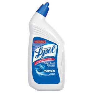 Lysol Disinfectant Toilet Bowl Cleaner, 32-oz, 12 Bottles (RAC74278CT)