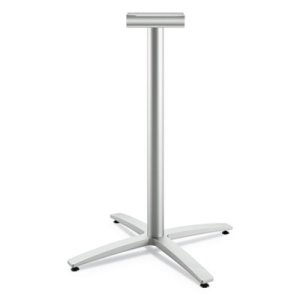 "Hon Between Standing-Height X-Base for 30-36"" Table Tops, 26.18w x 41.12h, Silver (HONBTX42SPR8)"