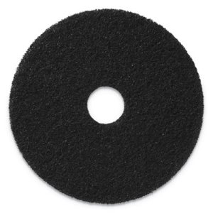 "Americo Stripping Pads, 17"" Diameter, Black, 5 Pads (AMF400117)"