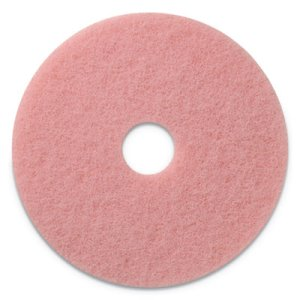 "Americo Remover Burnishing Pads, 27"" Diameter, Pink, 2/CT (AMF403427)"