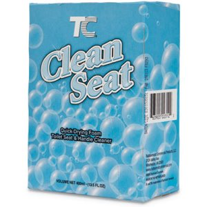 Rubbermaid TC Clean Seat Foaming Refill, Unscented, 12 Refills (RCP402312)