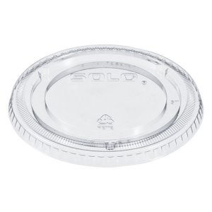 Dart Lids for Solo Ultra Clear Cups, Fits 9-22 oz. Cups, 1000 Lids (DCC662TP)