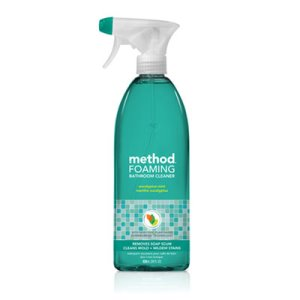 Method Tub 'N Tile Bathroom Cleaner, Eucalyptus Mint Scent, 8 Bottles (MTH01656)