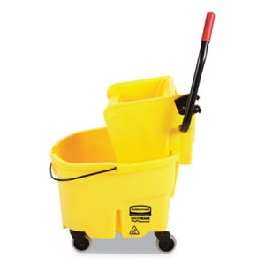Rubbermaid Commercial WaveBrake 2.0 Bucket/Wringer Combos RCPFG748000YEL